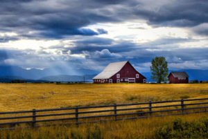 Gallatin Valley, Montana Barn